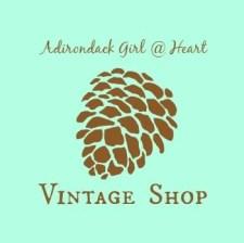 adirondackgirlatheart vintage shop button