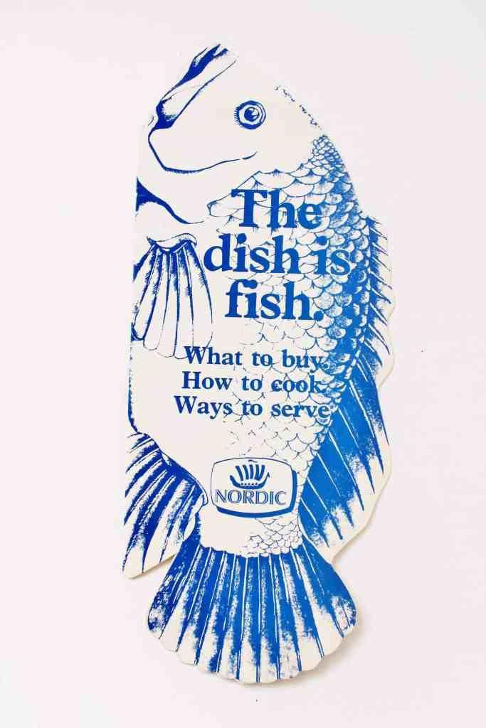 vintage nordic fish recipe pamphlet