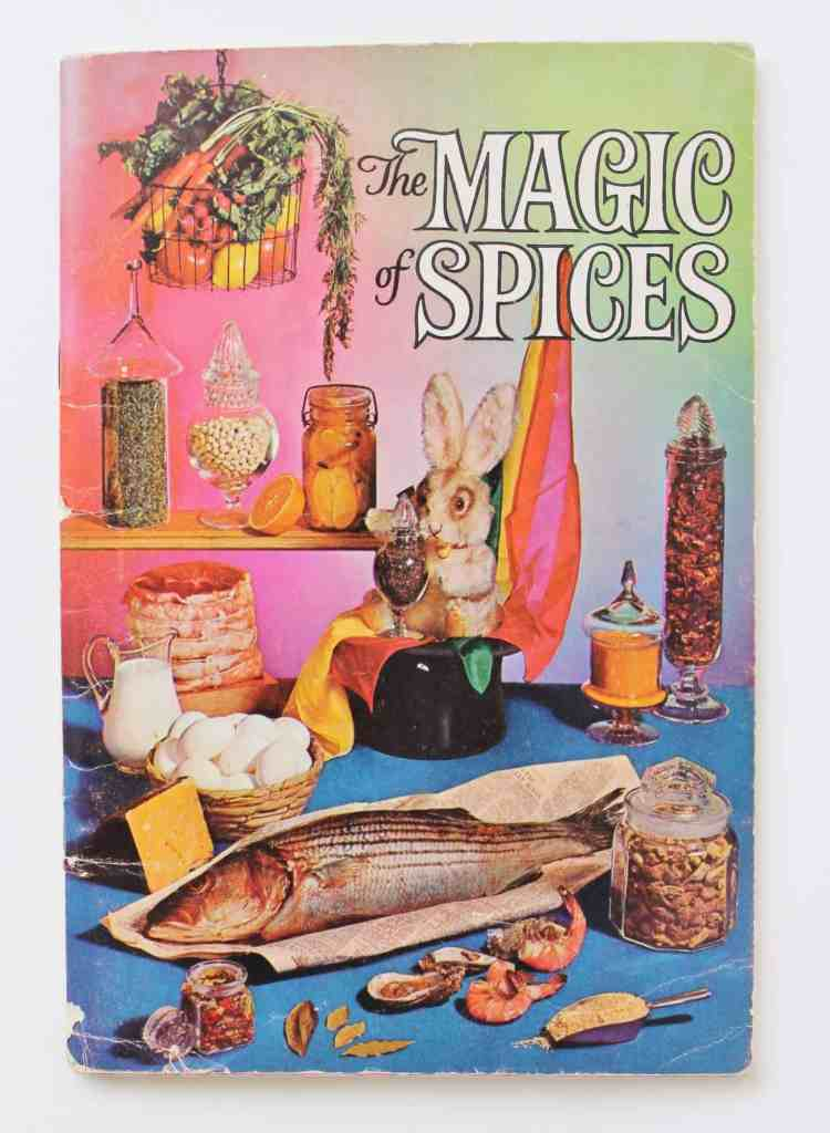 Vintage Spice recipe booklet