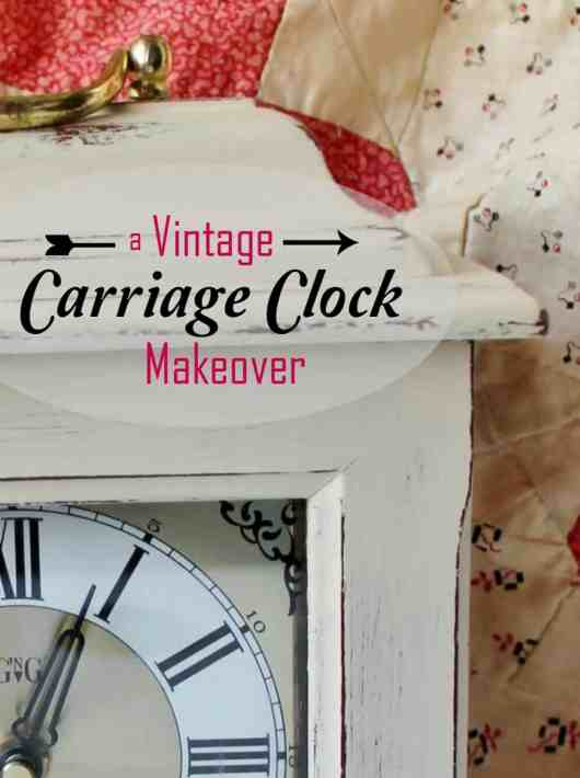 A vintage carriage clock makeover