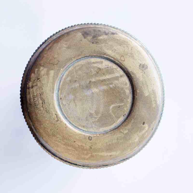 top of vanity jar