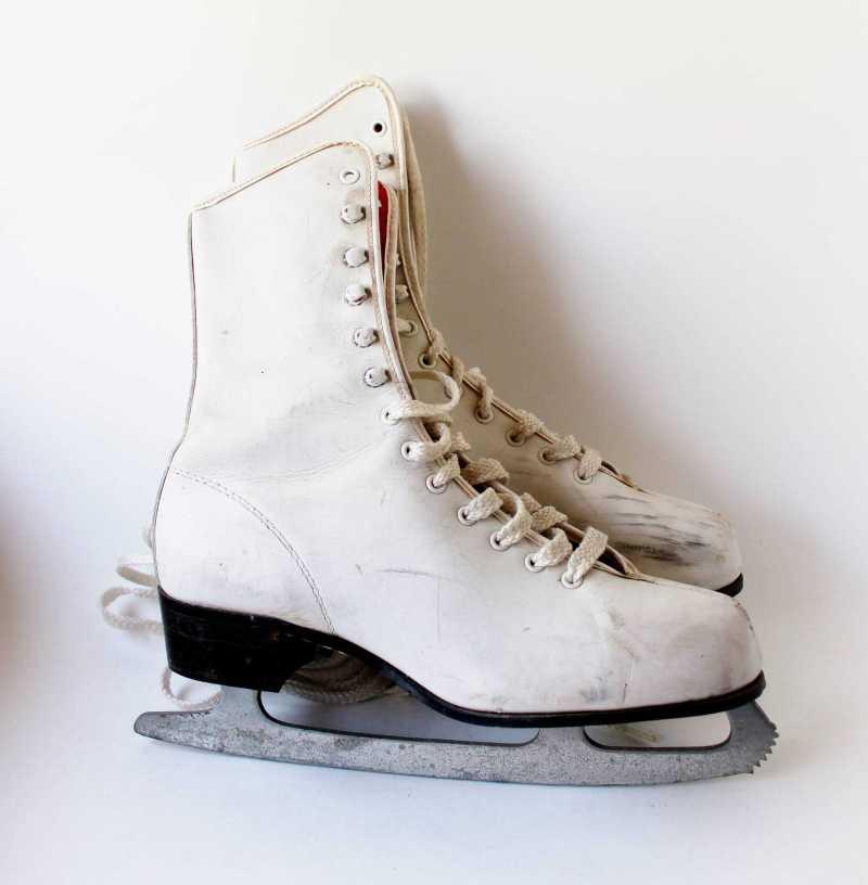 vintage leather skates