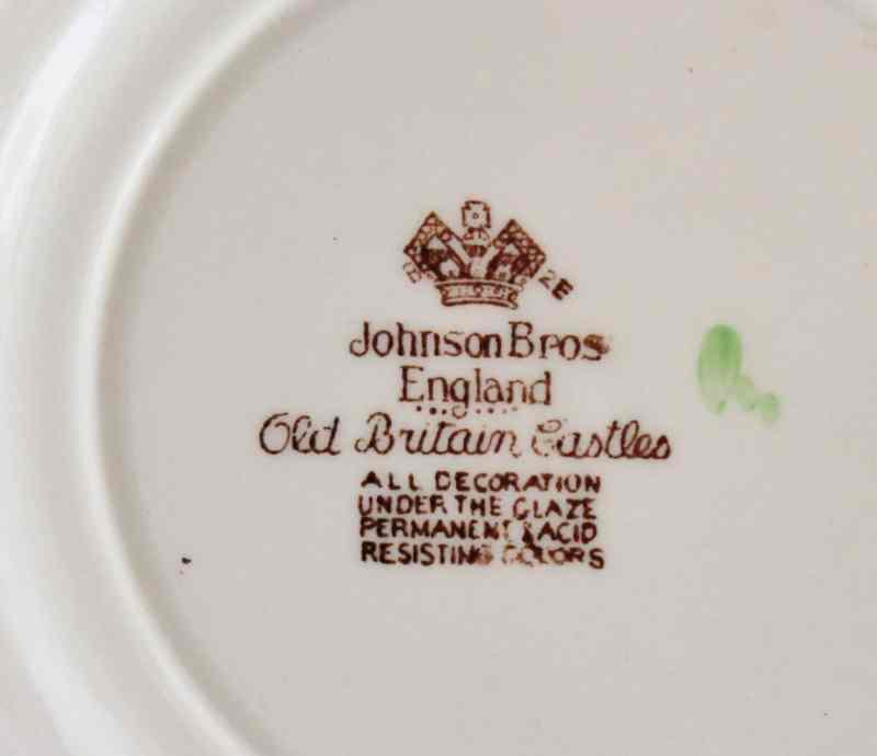 johnson bros. Old britain Castles mark