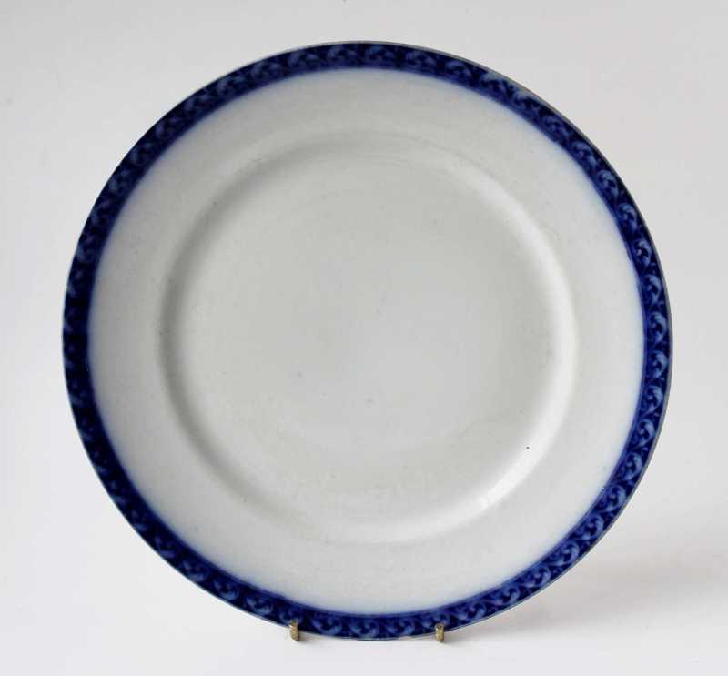 alfred meakin flow blue dinner plate
