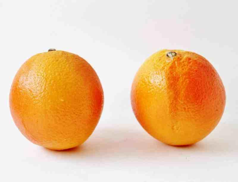 vintage orange stone fruit