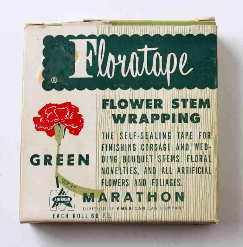 vintage floral tape