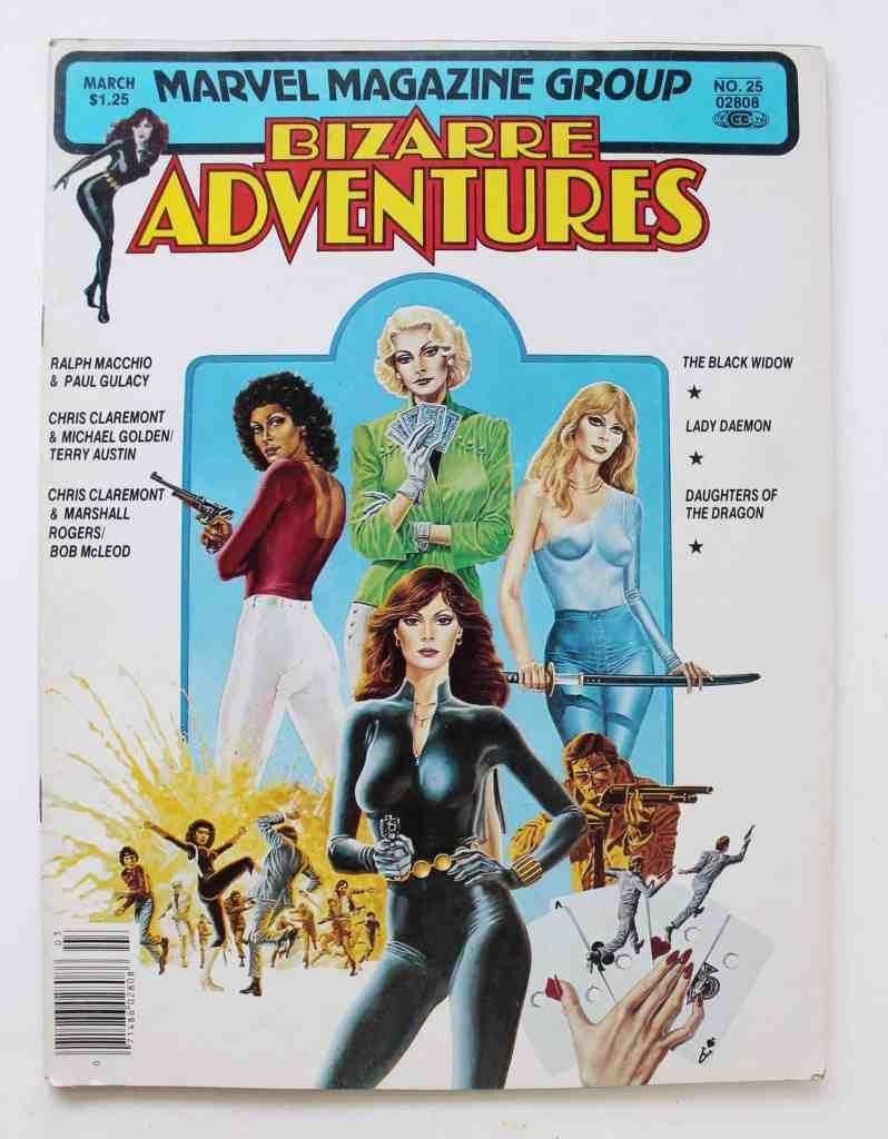 bizarre adventures comic book