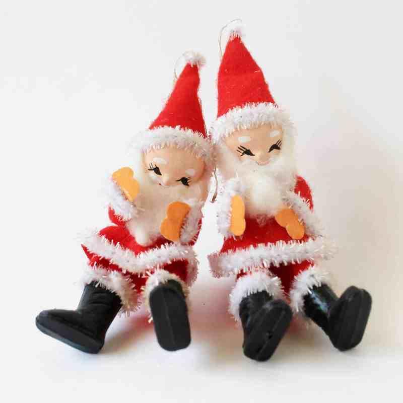 vintage santas made in japan