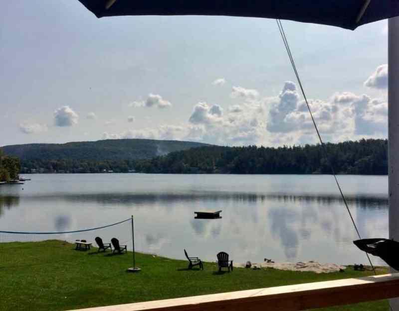 Lake Warner in the Helderbergs