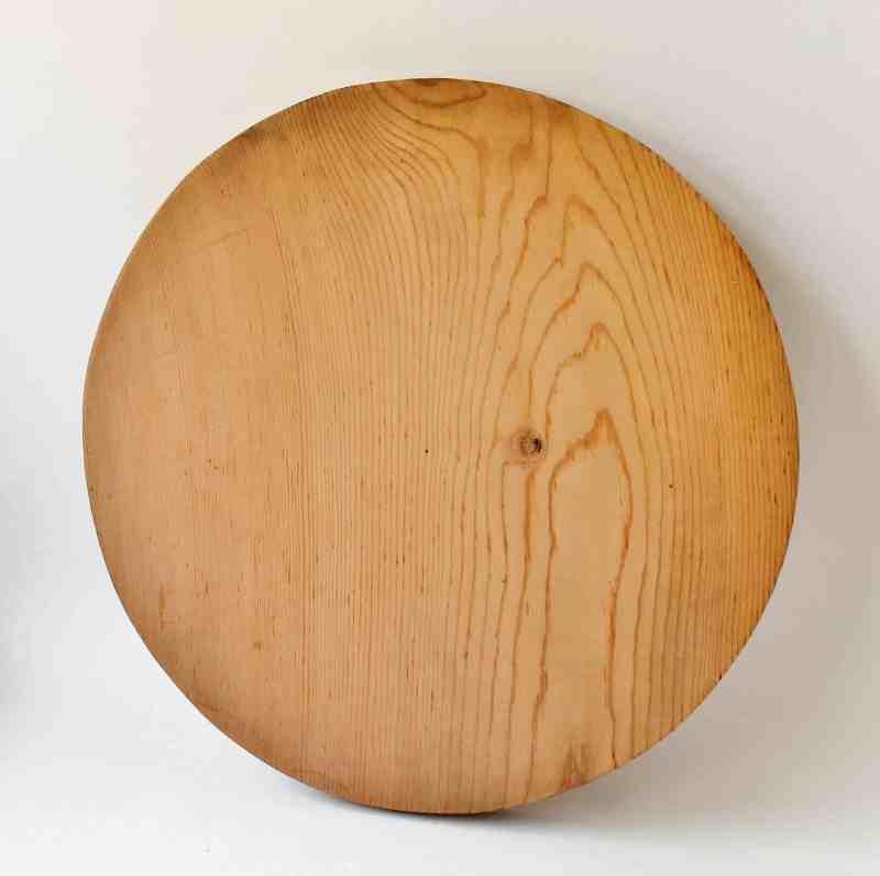 round scrap wood