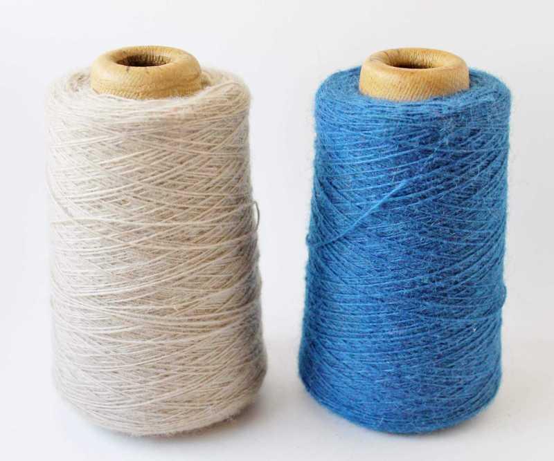 vintage spools of wool