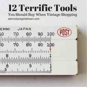Twelve Terrific Tools You Should Buy When Vintage Shopping