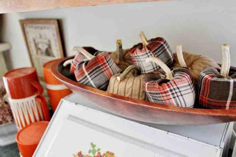 flannel shirt pumpkins