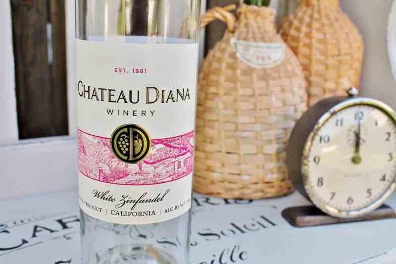 chateau Diana wine bottle