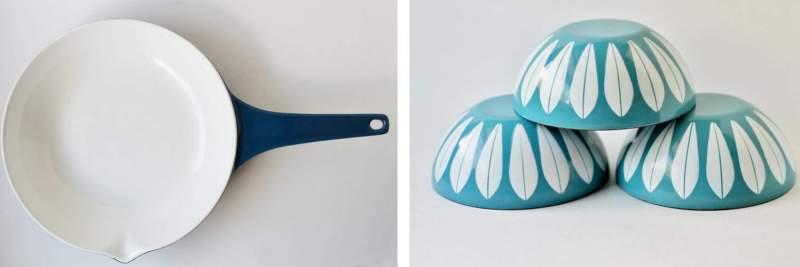 copco pan and catherineholm bowls
