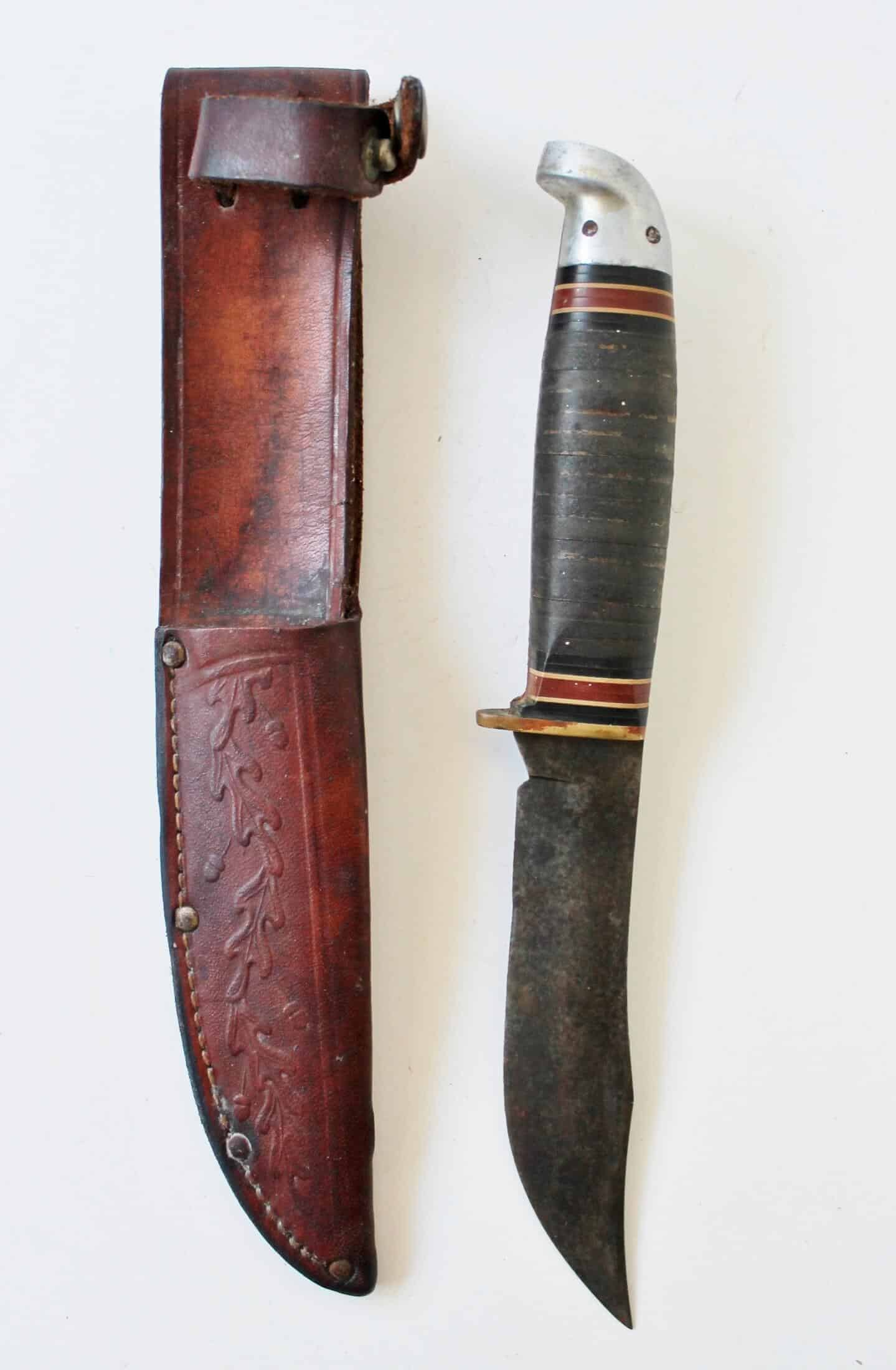 great western hunting knife
