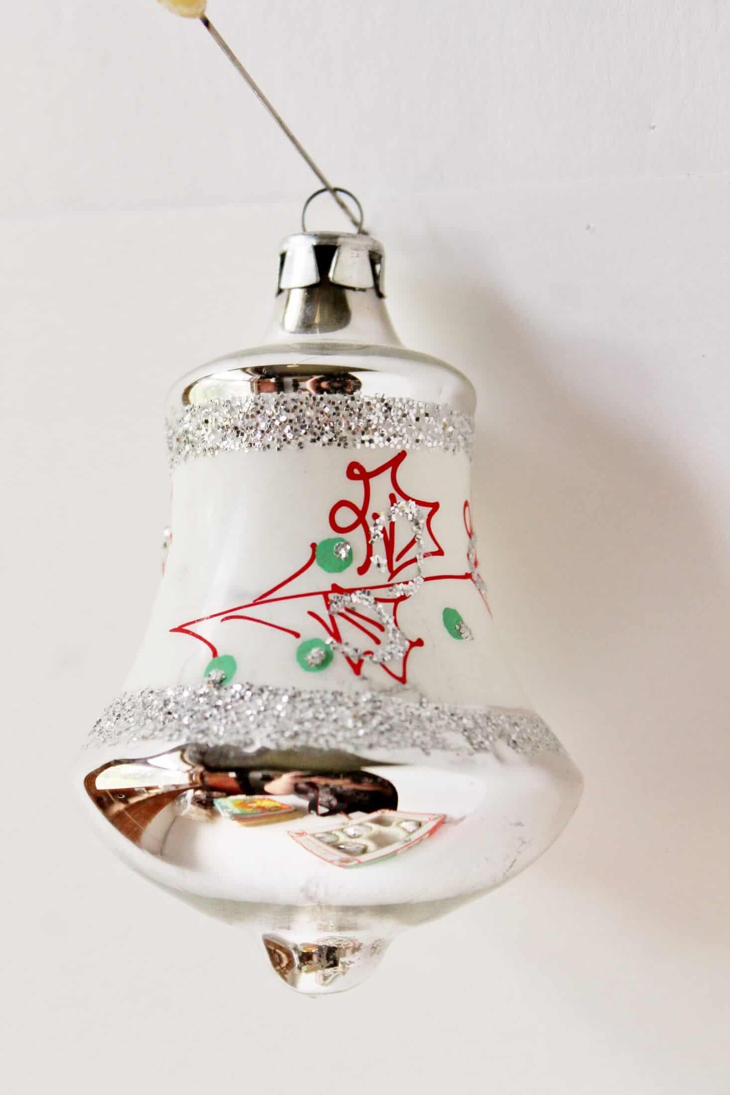 Vintage czech bell ornament