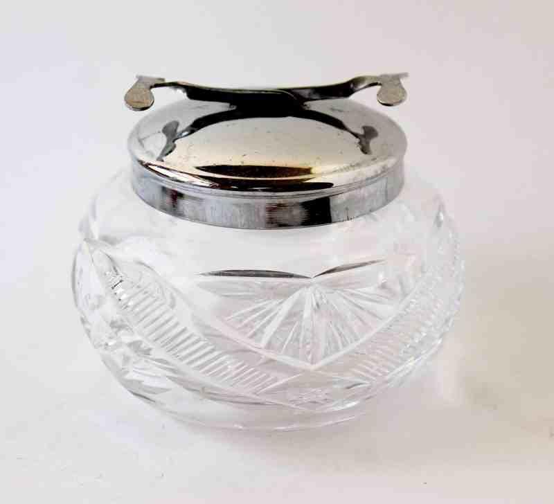 vintage english sugar bowl