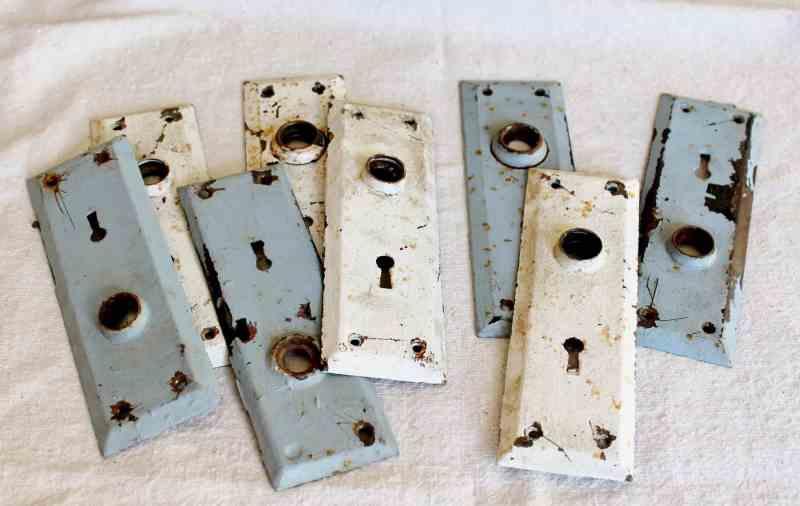 vintage door plates