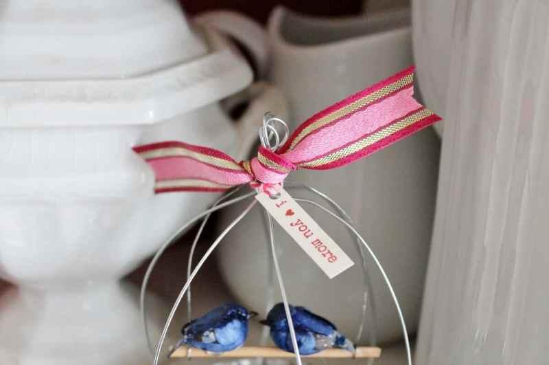 close up of ribbon and tag