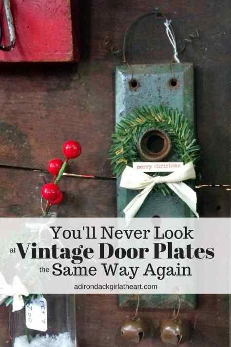 you'll never look at vintage door plates the same way again adirondackgirlatheart.com