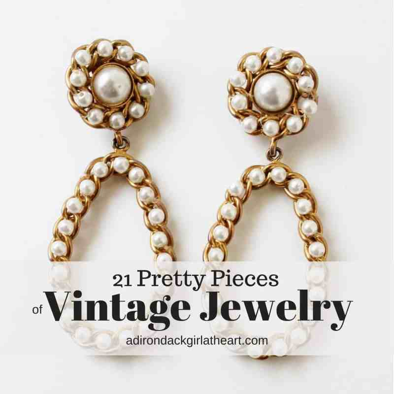 21 Pretty Pieces of Vintage Jewelry adirondackgirlatheart.com