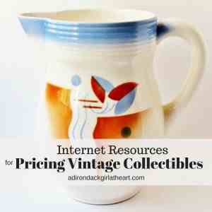 Internet Resources for Pricing Vintage Collectibles