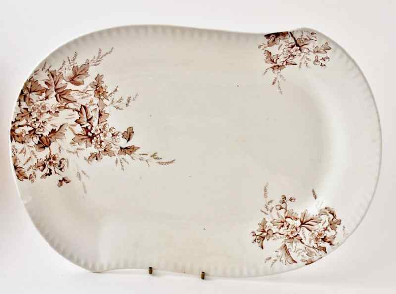 antique johnson bros. ironstone platter