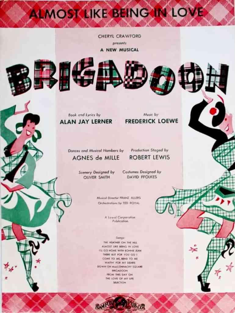 Brigadoon almost like being in love, 1957