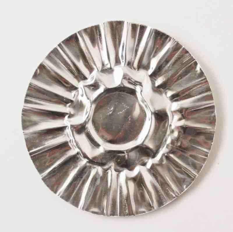 flattened tart tin