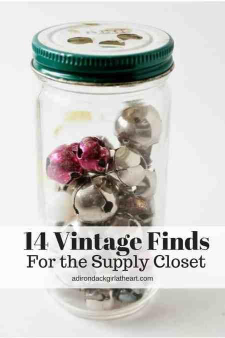14 Vintage Finds for the supply closet adirondackgirlatheart.com (2)