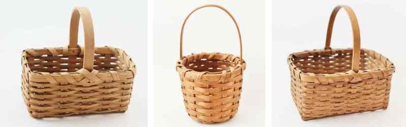3 mini baskets