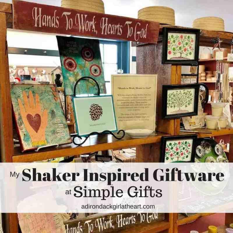 My Shaker Inspired Giftware at Simple Gifts adirondackgirlatheart.com