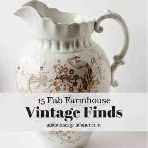 15 Fab Farmhouse Vintage Finds