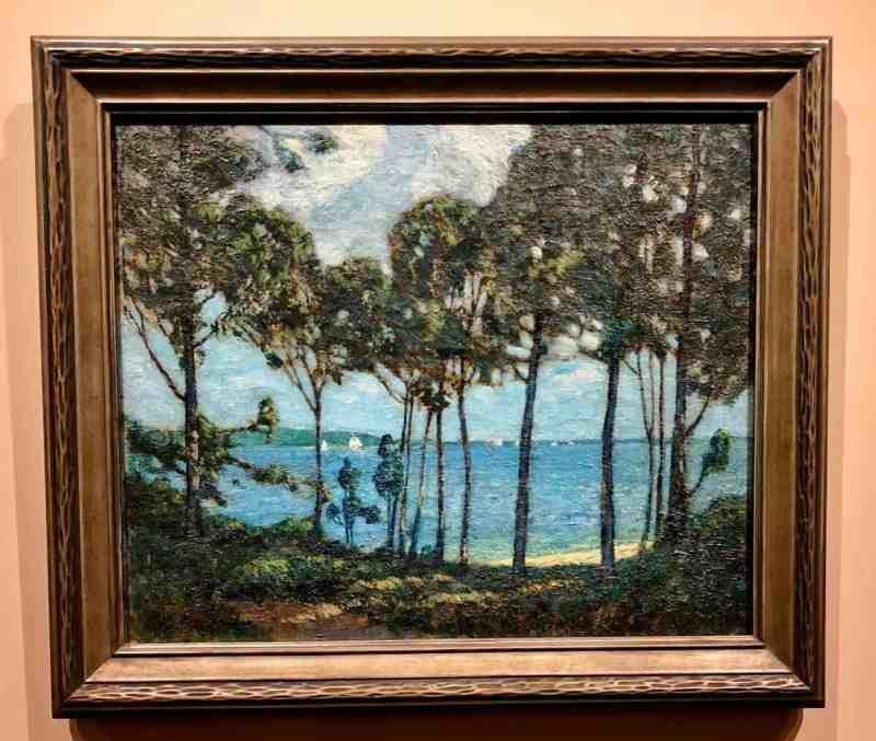 Paradise Woods, Southold, LI Whitney M. Hubbard, (1875-1965)