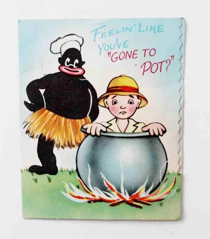 Vintage Aborigine Card