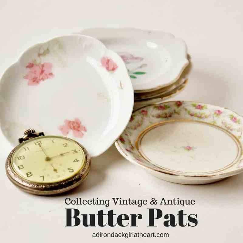 collecting vintage butter pats adirondackgirlatheart.com