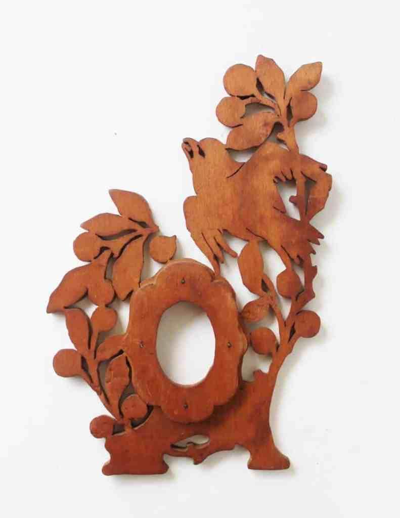 Ornate victorian wooden frame