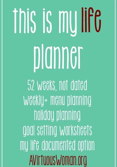 This is My Life Planner