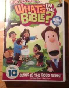 What's In The Bible? Vol. 10 DVD Review