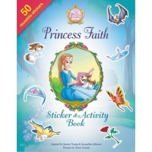 Princess Hope & Faith Sticker And Activity Book Review