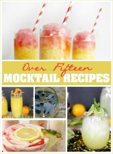 Over 20 Mocktail Recipes for Kids