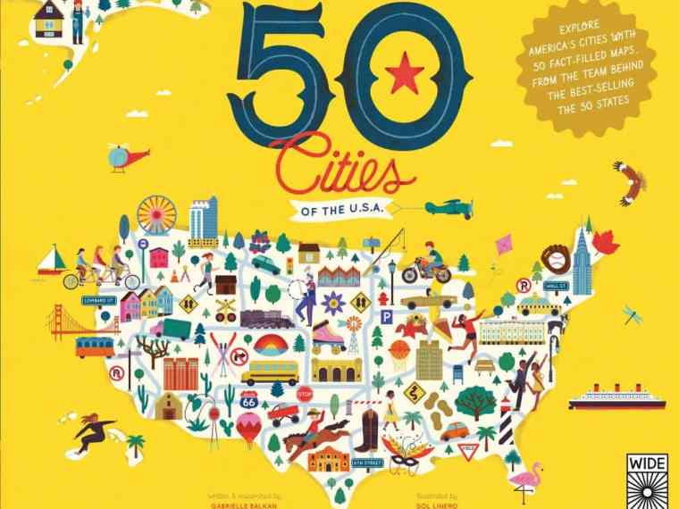The 50 Cities of the U.S.A