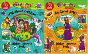 The Beginner's Bible Sticker & Activity Books Review