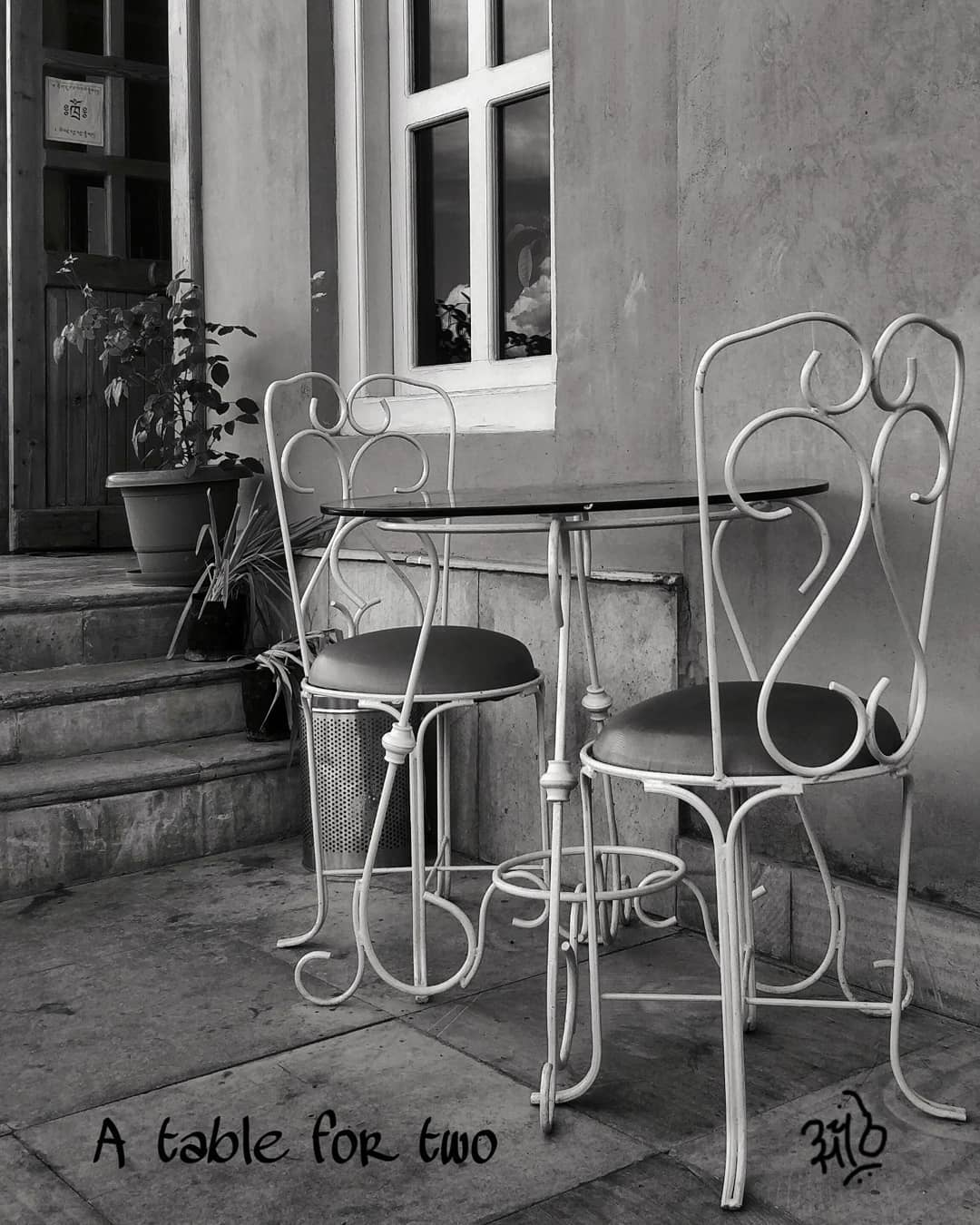 A Table For Two: Photo Series ~ Adi
