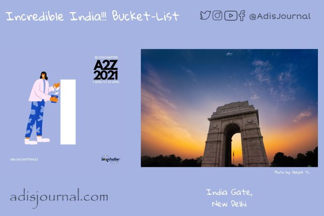 India Gate: In the memory of fallen heroes
