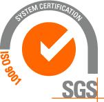 Enlace a Certificación SGS ISO 9001