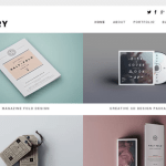 portfolio wordpress themes free