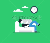 stock-vector-procrastination-concept-lazy-man-on-sofa-couch-potato-tired-person-lying-down-on-back-passive-455629048