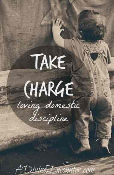 A refreshing look at parental discipline. (I Samuel 15:22) https://adivineencounter.com/take-charge